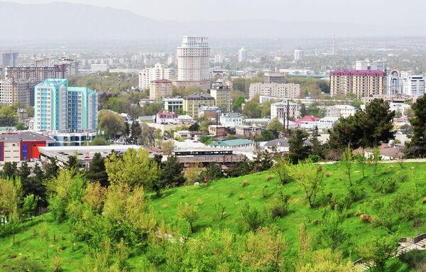 Вид на Душанбе. Архивное фото - Sputnik Таджикистан