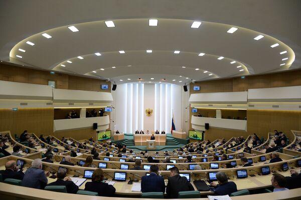 Заседание Совета Федерации РФ. Архивное фото - Sputnik Таджикистан