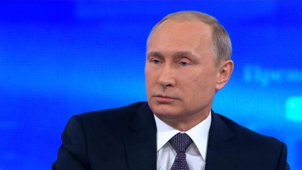 Путин на Прямой линии ответил на вопрос, долго ли еще терпеть санкции - Sputnik Тоҷикистон