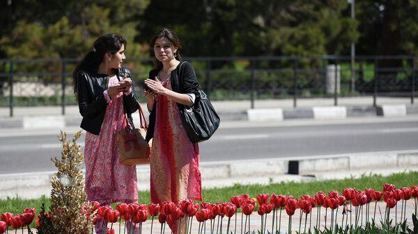 В Душанбе пришла весна - Sputnik Таджикистан