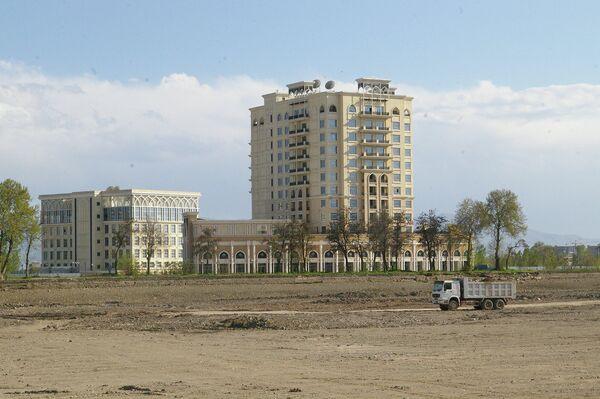 Новостройка в Душанбе. Архивное фото - Sputnik Таджикистан