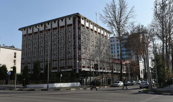 Здание министерства экономического развития и торговли РТ. Архивное фото - Sputnik Таджикистан
