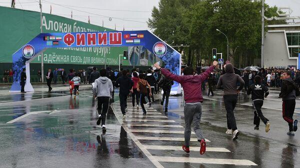 Полумарафон в Душанбе 18 апреля 2015 года - Sputnik Таджикистан