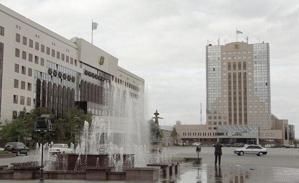 Центральная площадь города Астаны - Sputnik Таджикистан