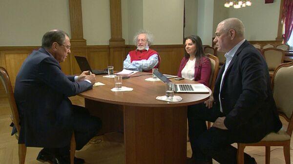 Большое интервью Лаврова: кризис на Украине, отношения РФ и США, борьба с ИГ - Sputnik Таджикистан