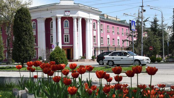 Здание администрации города Душанбе. Архивное фото - Sputnik Таджикистан