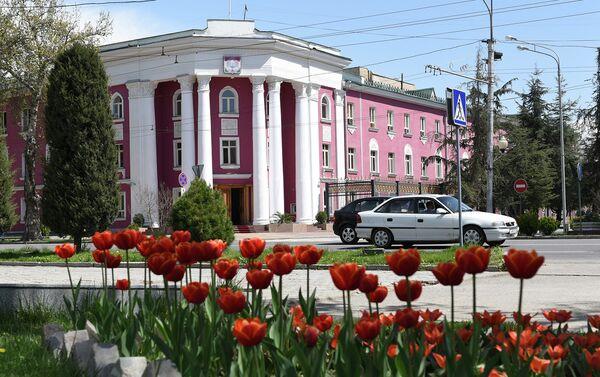 Также под снос идет нынешнее здание администрации города Душанбе - Sputnik Таджикистан