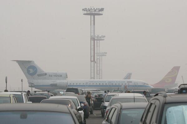 В аэропорту Домодедово. Архивное фото - Sputnik Таджикистан