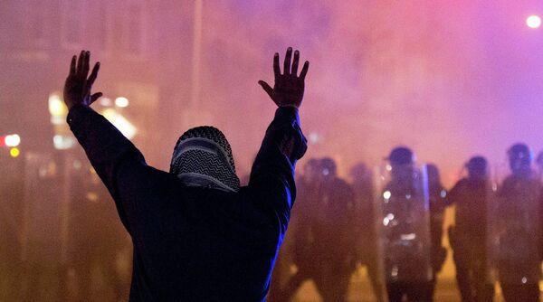 Беспорядки в Балтиморе 28 апреля 2015 года - Sputnik Таджикистан