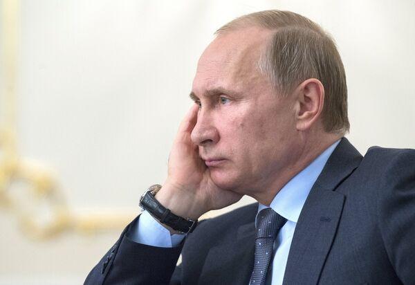 Президент России Владимир Путин. Архивное фото. - Sputnik Таджикистан