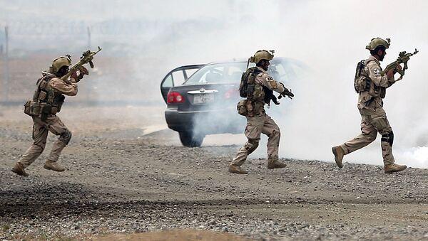 Спецназ МВД Афганистана. Архивное фото - Sputnik Тоҷикистон