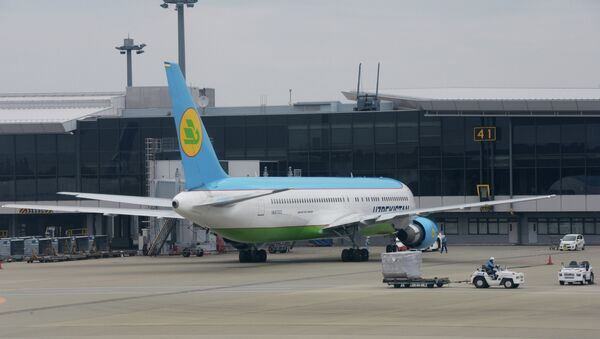Боинг 767-300. Архивное фото - Sputnik Таджикистан