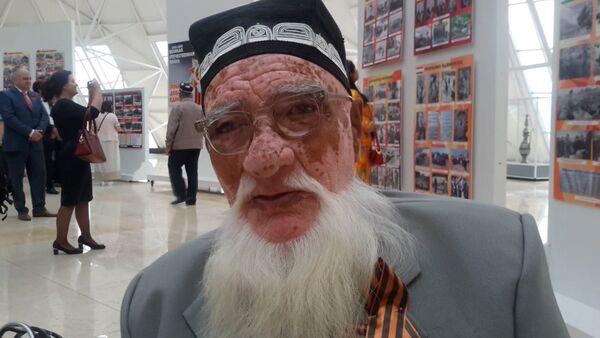 Ветеран Мадулло Сафаров: я боролся за право защищать свою Родину - Sputnik Таджикистан