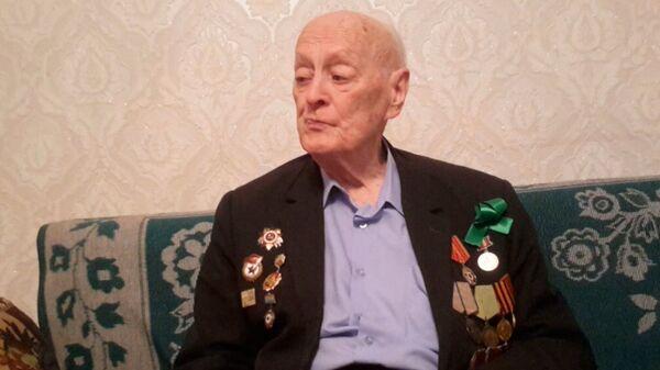 Ветеран Соболев: мать получила мою похоронку задолго до окончания войны - Sputnik Таджикистан