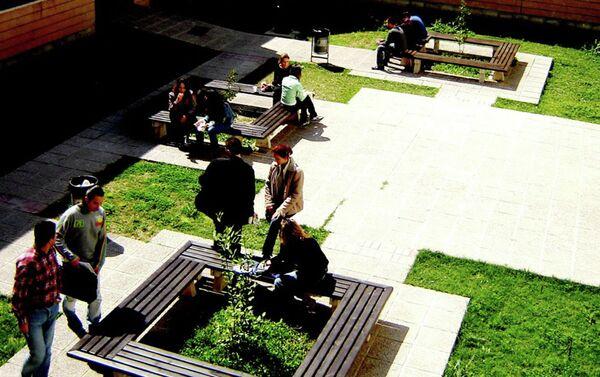 В кампусе одного из университетов Кипра. Архивное фото - Sputnik Таджикистан