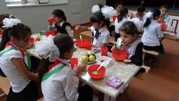 В Хатлонской области открылся пилотный центр школьного питания - Sputnik Таджикистан