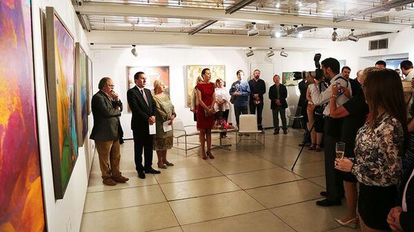 В Москве открылась выставка таджикских художников. Архивное фото - Sputnik Таджикистан