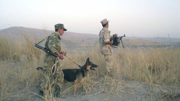На таджикско-афганской границе - Sputnik Таджикистан