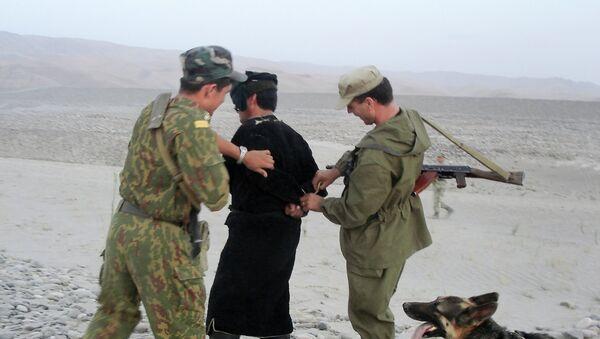 В районе Пянджского погранотряда на таджикско-афганской границе - Sputnik Тоҷикистон