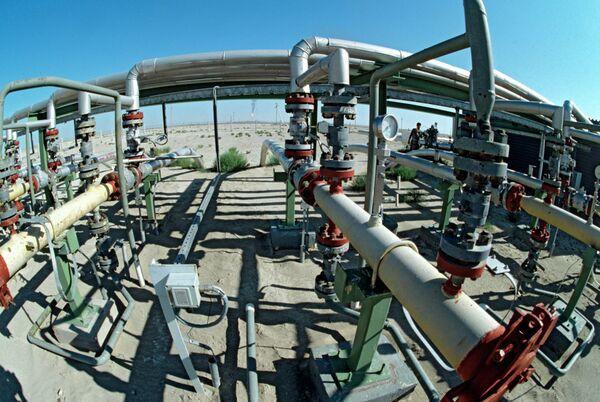 Нефтяное месторождение Тенгиз в Казахстане. Архивное фото - Sputnik Таджикистан