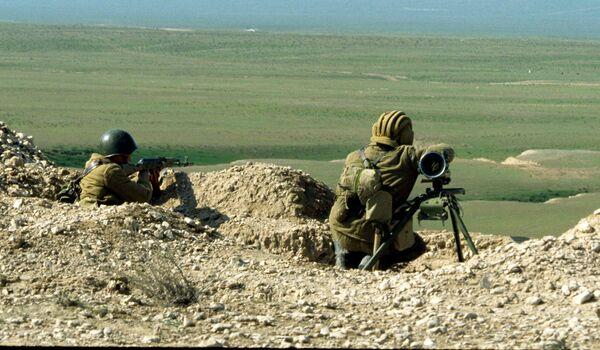 Военные учения в Таджикистане. Архивное фото - Sputnik Таджикистан