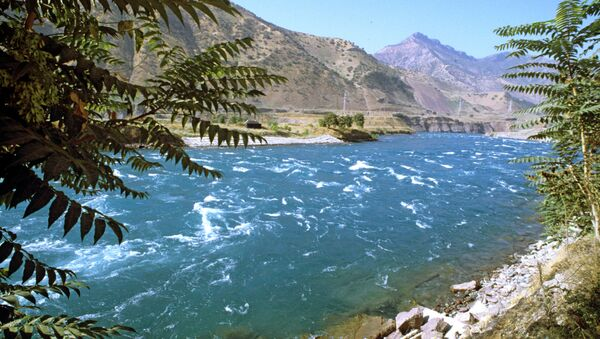 Река Вахш, архивное фото - Sputnik Тоҷикистон