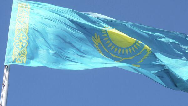 Флаг Казахстана. Архивное фото - Sputnik Таджикистан