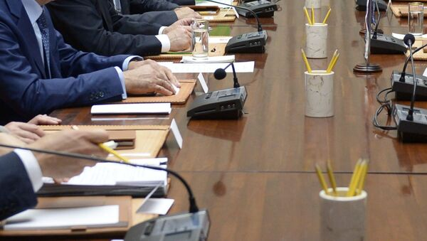 Переговоры. Архивное фото - Sputnik Таджикистан