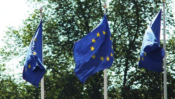 Флаги ЕС. Архивное фото - Sputnik Таджикистан