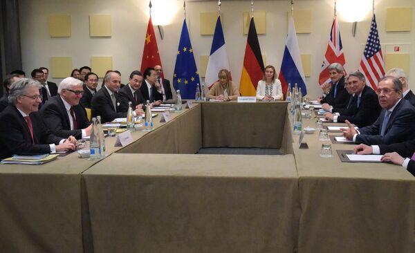 Переговоры шестерки по иранской ядерной программе - Sputnik Таджикистан
