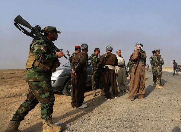 Курдские вооруженные формирования. Архивное фото - Sputnik Таджикистан
