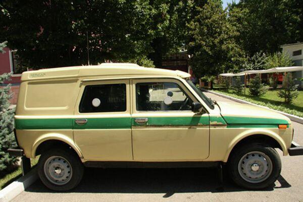 Специализированный автомобиль Национального банка Таджикистана - Sputnik Таджикистан