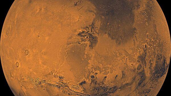 Планета Марс. Архивное фото. - Sputnik Таджикистан