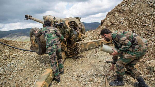 Сирийские военные, архивное фото - Sputnik Таджикистан