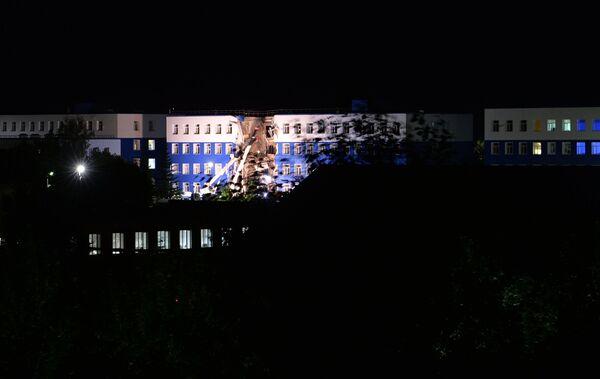 Тахриби боми маркази оӯмзишии низомӣ дар вилояти Омск - Sputnik Тоҷикистон