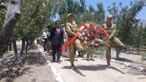 В Шурабаде вспомнили о героях 12 погранзаставы - Sputnik Таджикистан