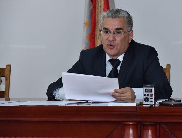 Наим Мансуров на пресс-конференции ВЭС РТ 15 июля 2015 года - Sputnik Таджикистан