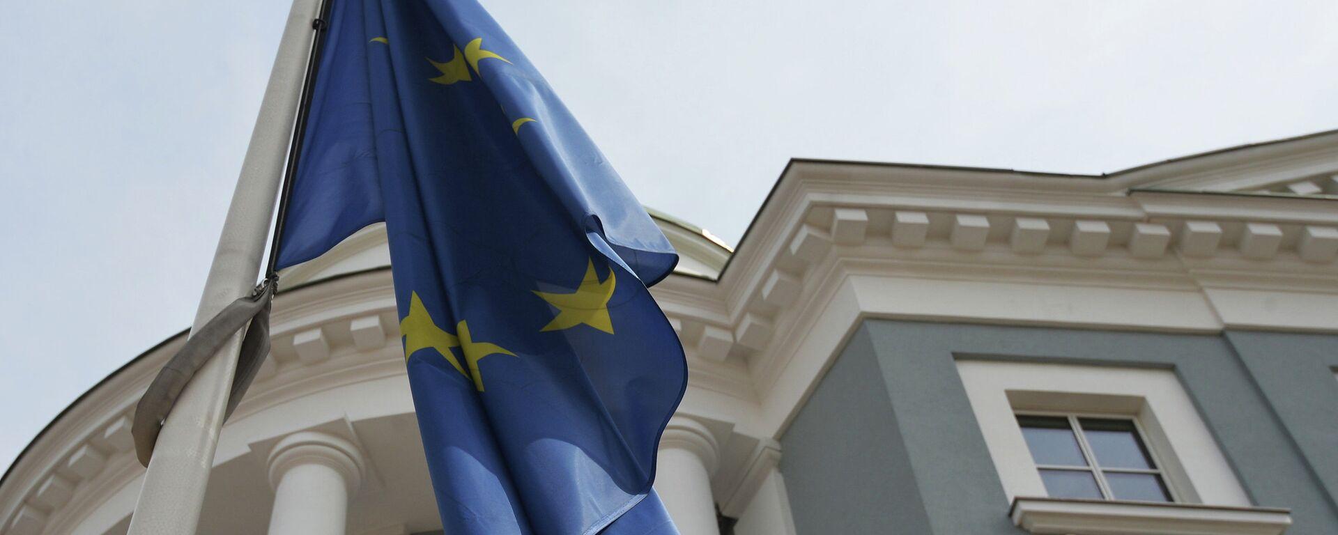 Флаг Европейского Союза, архивное фото. - Sputnik Тоҷикистон, 1920, 25.06.2021