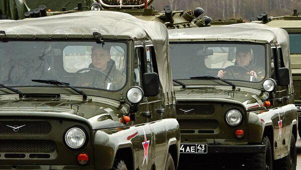 Автомобили УАЗ. Архивное фото - Sputnik Тоҷикистон
