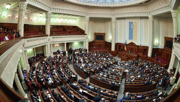 Заседание Верховной рады Украины. Архивное фото - Sputnik Таджикистан