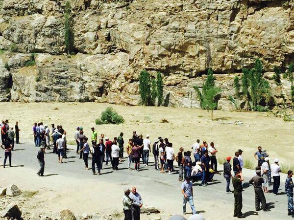 Последствия схода сели в ГБАО. 17 июля 2015 года - Sputnik Таджикистан