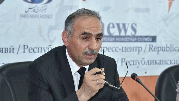 Шамсиддин Орумбекзода на пресс-конференции Министерства культуры РТ - Sputnik Тоҷикистон