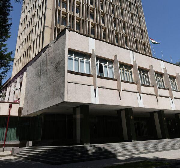 Здание, где располагается офис НИАТ Ховар. Архивное фото - Sputnik Таджикистан