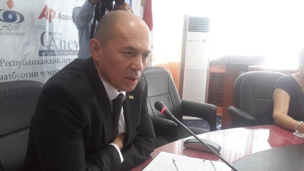Министр юстиции Таджикистана Рустами Шохмурод - Sputnik Тоҷикистон