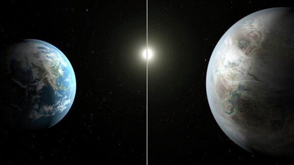 Cравнение между Землей и планетой Kepler-452b, сделанное в NASA - Sputnik Таджикистан