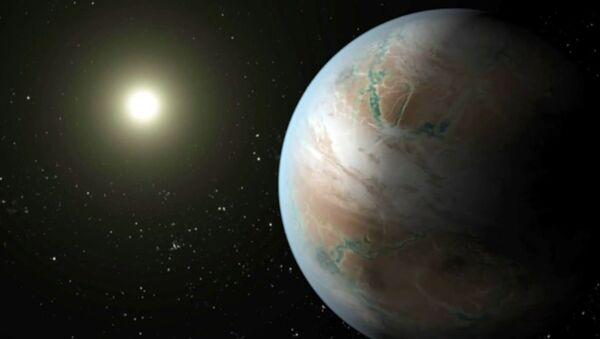 Как выглядит кузина Земли Kepler-452b из созвездия Лебедя. Анимация НАСА - Sputnik Таджикистан