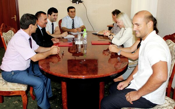Подписание меморандума - Sputnik Таджикистан