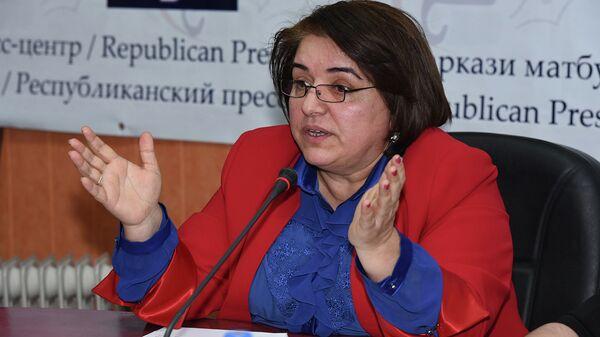 Гавхар Шарофзода. Архивное фото - Sputnik Таджикистан