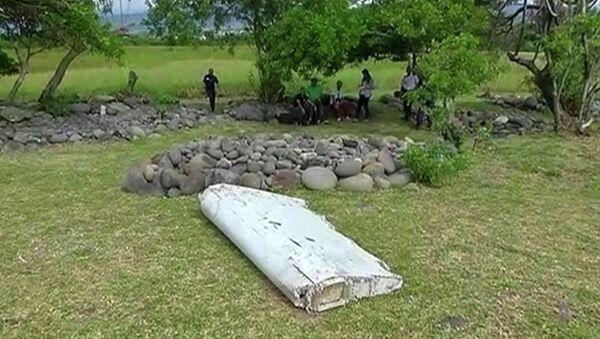 Обломок самолета, обнаруженный на острове Реюньон - Sputnik Таджикистан