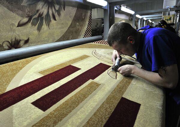 Производство ковров. Архивное фото - Sputnik Таджикистан